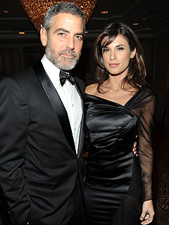 George Clooney & Elisabetta Canalis's PDA-Filled Night