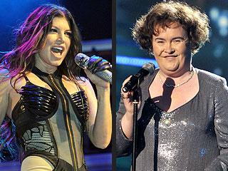 Fantasy Grammy Duets: Taylor & Kanye! Fergie & Susan Boyle!