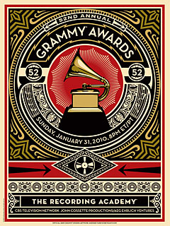This Year's Grammy Poster: the Presidential Connection