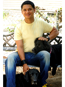 Secret Life Star Has 2 Not-So-Secret Loves: His Rescue Dogs