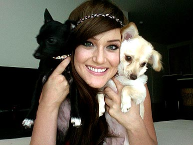 DWTS Pro Lacey Schwimmer In Step With New Chihuahua