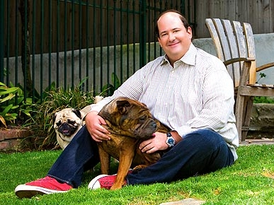 Office Star Brian Baumgartner's Little Dogs Would Rather Go Naked