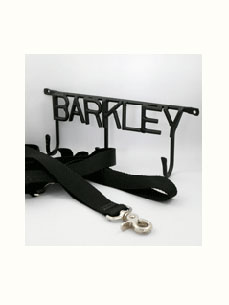 Get Hooked on Pets Unleashed Wrought-Iron Leash Holders