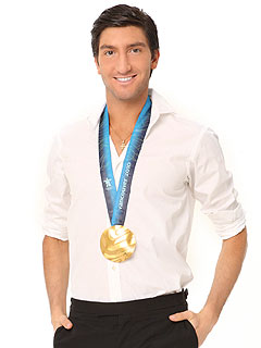 Dancing: Evan Lysacek Steps out of His Comfort Zone — and into the Tanning Booth!
