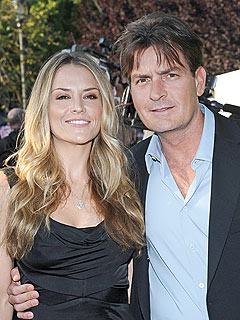 Brooke Mueller and Charlie Sheen Living Apart