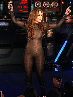 Jennifer Lopez's Nearly-Naked Catsuit Gets Catcalls