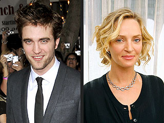 Uma Thurman to Costar with Robert Pattinson in Steamy New Film