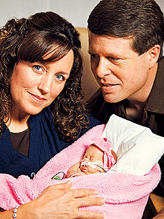 EXCLUSIVE: Jim Bob and Michelle Duggar Reveal Baby Josie