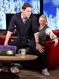 Channing Tatum Demonstrates What Male Strippers Do