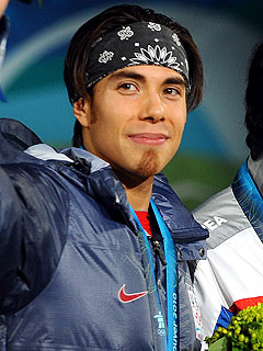 "Apolo Ohno: Pam Anderson Too ""Top-Heavy"" to Win  DWTS"