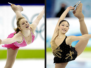 Rachael Flatt & Mirai Nagasu: High Hopes &#8211; and a Nosebleed