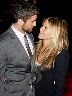 Gerard Butler Says Jennifer Aniston Is Like Family