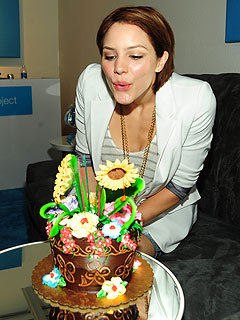 Katharine McPhee's Birthday Philosophy: Skip the Gym!