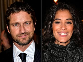 Gerard Butler Has Romantic Rendezvous with French TV Host
