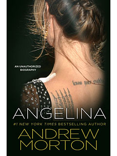 First Look: Unauthorized Angelina Jolie Book Cover