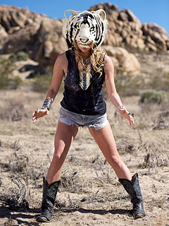 Ke$ha Reveals Her Inner Animal in Desert Shoot