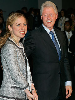 Chelsea Clinton Tells Dad to Slim Down for Wedding
