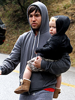 Pete Wentz's Young Son in Minor Car Accident