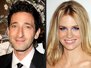 Are Adrien Brody and January Jones Dating?