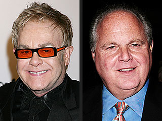 Elton John 'a Little Surprised' at Rush Limbaugh Wedding Invite