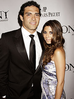 Jamie-Lynn Sigler and Mark Sanchez Cozy Up at the Tonys