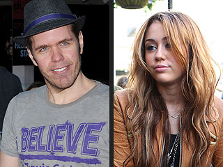 Heat Is on Perez Hilton for Miley Cyrus Photo