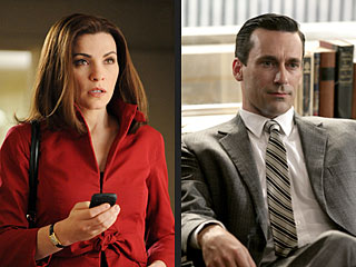 Emmy Nominations: Mad Men, Friday Night Lights, Chris Colfer, Jim Parsons