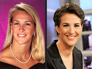 Rachel Maddow's Yearbook Surprise – She's a Blonde!