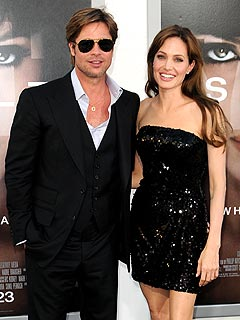 Angelina and Brad Pitt Wedding Rumors False