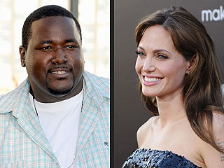 A Kiss on the Cheek, and Quinton Aaron Falls for Angelina Jolie