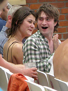 Who Is Daniel Radcliffe&#39;s Mystery Date?