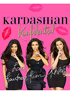 Kardashian Sisters' Autobiography Cover Unveiled