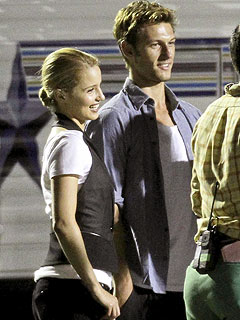 Hot New Couple? Glee's Dianna Agron & Alex Pettyfer