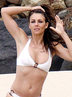 Elizabeth Hurley: My Boobs Are Real