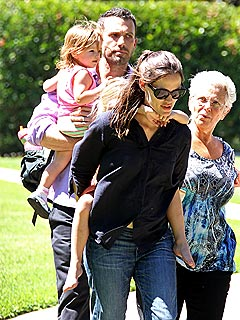 Jennifer Garner and Ben Affleck Enjoy Playtime with the Kids