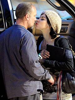 Jesse James & Kat Von D Get Kissy in Texas