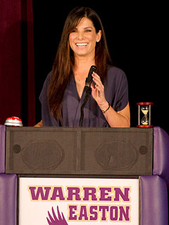 Sandra Bullock Praises Students at Her Adopted High School