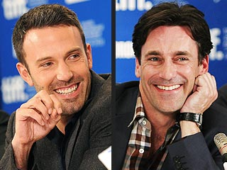 Jon Hamm & Ben Affleck's (Imaginary) Sex Scenes Too Raunchy for the Movies