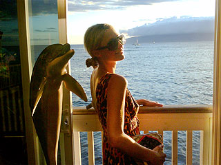 Paris Hilton Eats, Plays, Loves in Maui