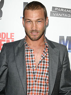 Spartacus Blood and Sand Star Andy Whitfield  Dead at 39