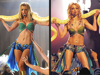 POLL: Who Wears Britney Spears's Snake Better?