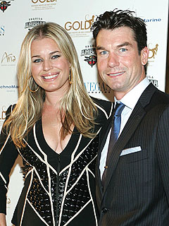 Jerry O'Connell's Modeling Muse? Wife Rebecca Romijn