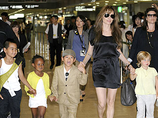 Angelina Jolie's Kids Starting School in Hungary