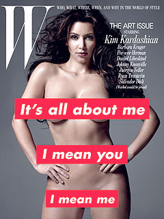Kim Kardashian Goes Fully Nude for Fashion Magazine