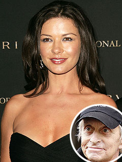 Catherine Zeta-Jones Honors Golf Date As Michael Douglas Recuperates