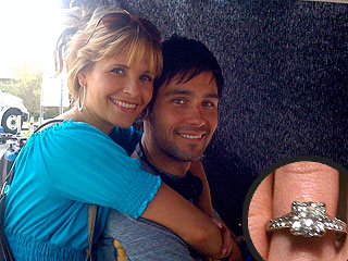 Army Wives&#39;s Sally Pressman Engaged to Cougar Town Actor