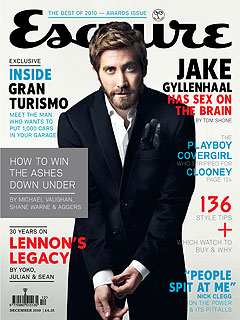 """Jake Gyllenhaal Gets Naked for """"Love and Other Drugs"""""""