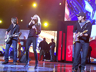 Carrie Underwood, Brad Paisley and Keith Urban Rehearse for CMA Awards