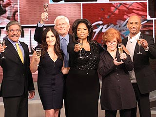 PHOTO: Iconic Talk Show Hosts Hail Queen Oprah