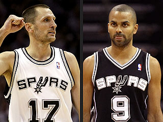 Tony Parker, Brent Barry Marriages Ending